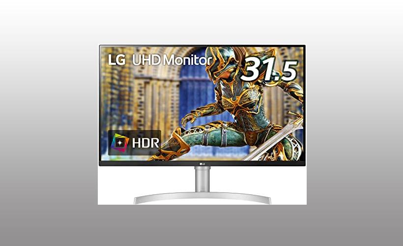 32UN650-Wの口コミと最安値!ゲーミング機能付きのLG31.5型4Kディスプレイ