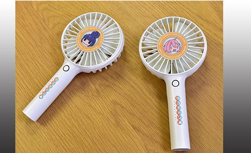 ポータブルハンディファン「なでしこ」「リン」の口コミと最安値!キャンプで使える卓上扇風機