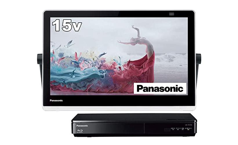 パナソニック 15V型テレビUN-15TD10-Kの口コミと最安値!防水なのでお風呂で観れる