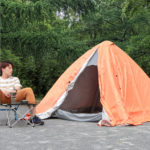 エアーピラミッドテントの口コミと最安値!60秒で組み立て完了のエアー式テント